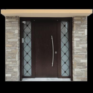 Θωρακισμένη Πόρτα εισόδου πολυκατοικίας---doors4home.gr